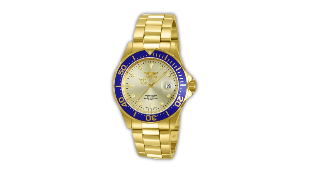 best gold watch for men from Invicta