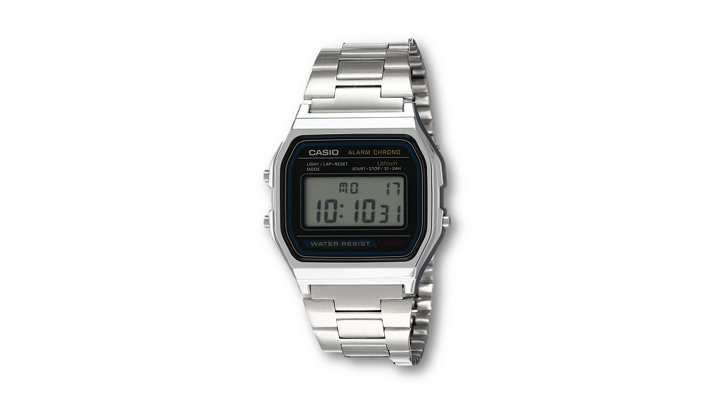 Casio vintage stainless steel