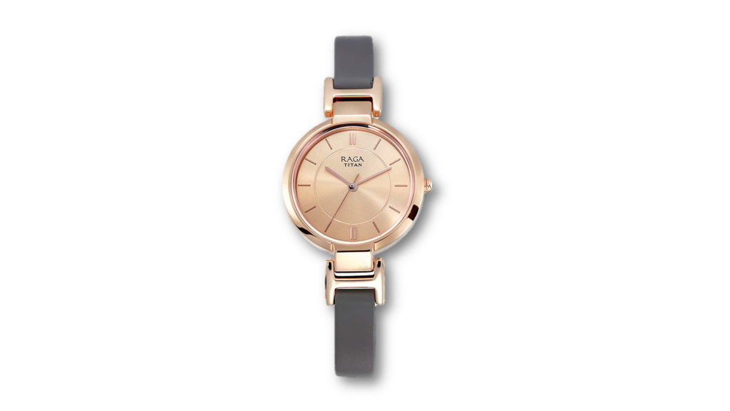 Beautiful Titan Raga Watch for Girl to wear on Occasions