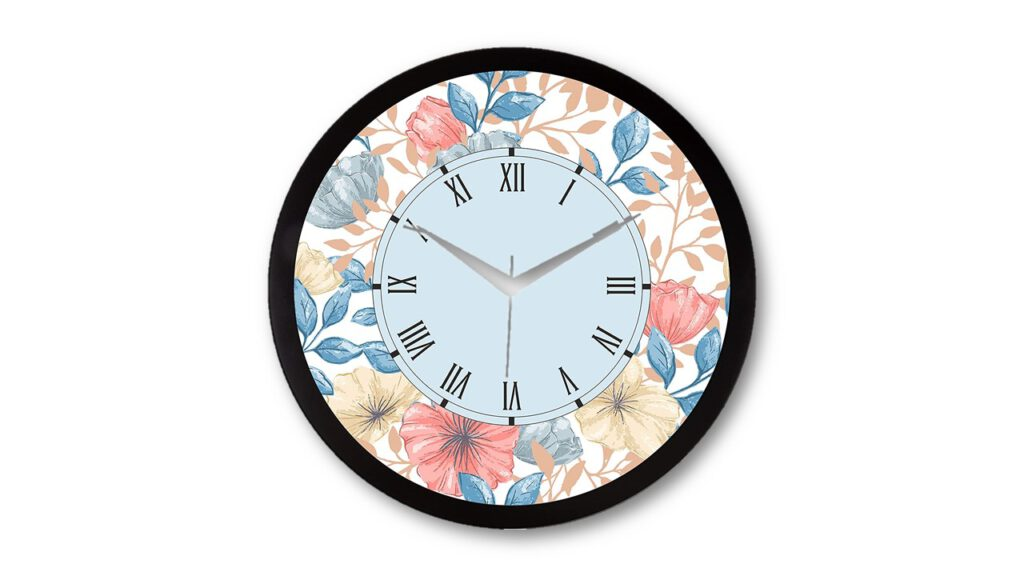 RAG28 colourful wall clock